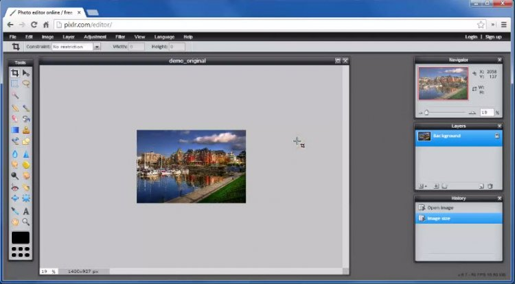 How to Optimize Images for the Web Using Pixlr
